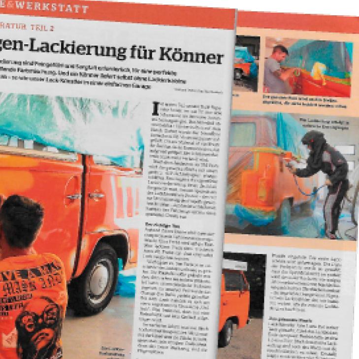 Magazinauschnitt Lamulacke Classic
